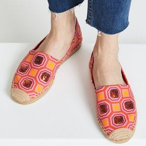 Tory Burch Cecily Sequin Embellished Espadrille 8